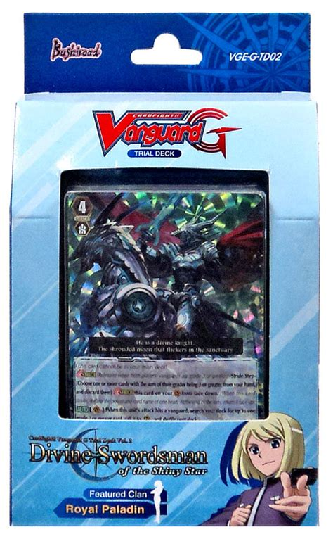 Vanguard Trial Deck 13 by Swordsman Of The Shiny Trial Deck Cardfight