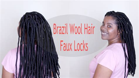 How to: Faux Locks with Brazilian Wool ? Natural Sisters
