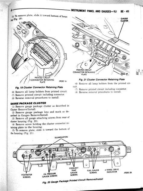 Jeep Wrangler Instrument Cluster Manual Jedi