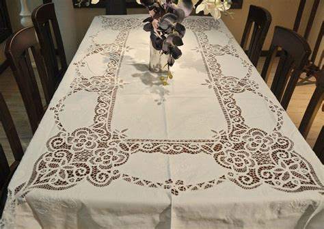 extra long white table cloth aliexpress com buy extra long vintage white 72x108