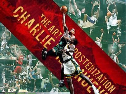 Dunk Charlie Villanueva Basketwallpapers Wallpapers