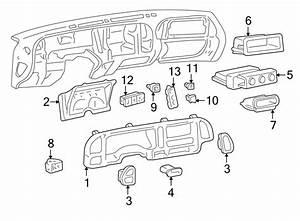 Chevrolet K2500 Headlight Switch  Instrument Panel Dimmer