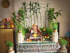 Ganesh Chaturthi Decoration Ideas For Home Busy Working ...