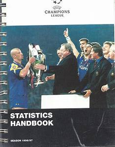 Champions League - Statstics Handbook Season 1996/97