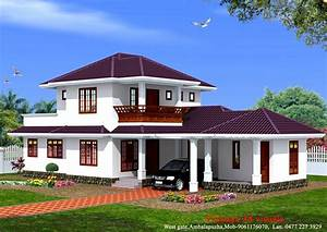 3D 3-Bedroom Floor Plans 3 Bedroom House Designs, simple 2 ...