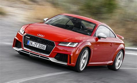 2018 Audi Tt Rs Coupe First Drive  Review  Car And Driver