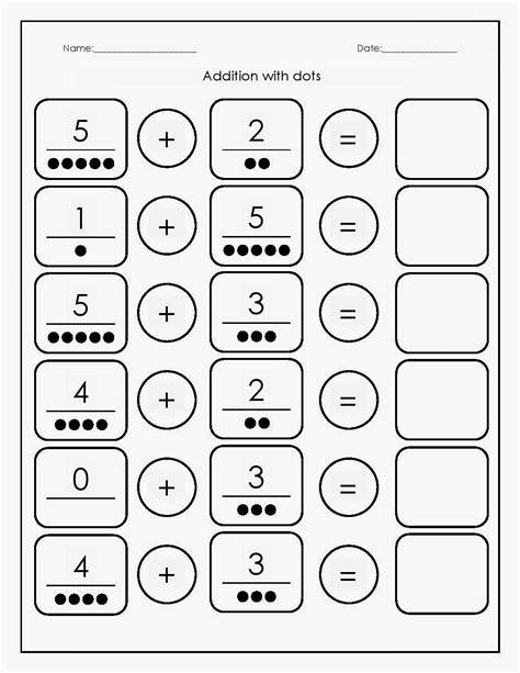 kindergarten worksheets maths worksheets addition