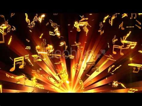 musical notes background motion graphics youtube