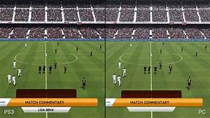 FIFA 14: PC vs. PlayStation 3 Comparison - YouTube