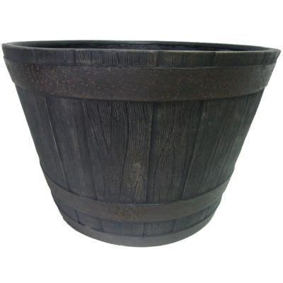 whiskey barrel planter home depot top 52 ideas about garden on gardens