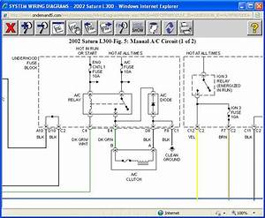 2002 Saturn L300 Fuel Pump Wiring Diagram