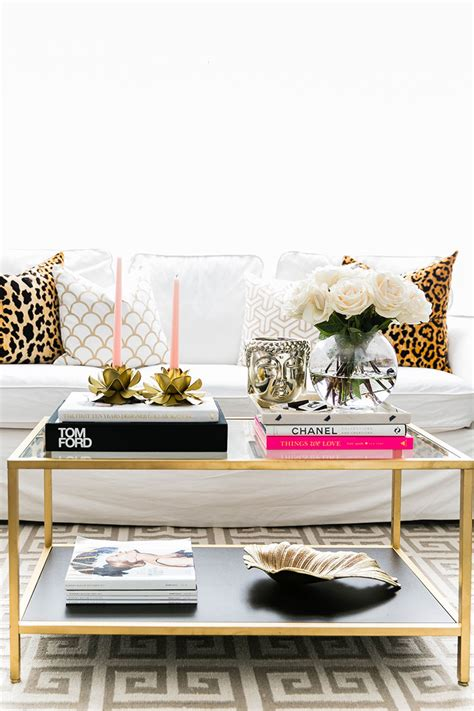 You can style your table to complement the design. How to Style a Coffee Table | Interior Design Blog | Hadley Court