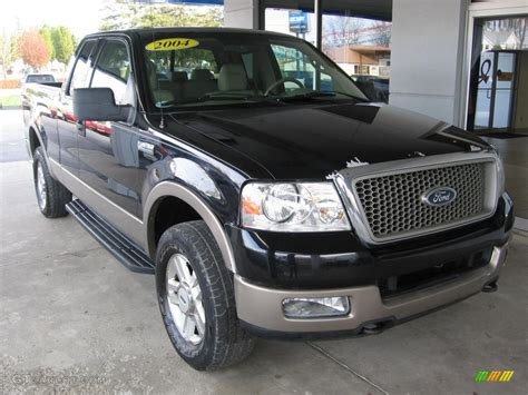 2004 black ford f150 lariat supercab 4x4 109114119