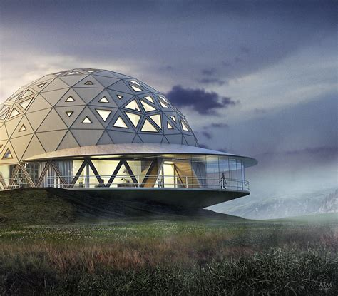Dome_House on Behance