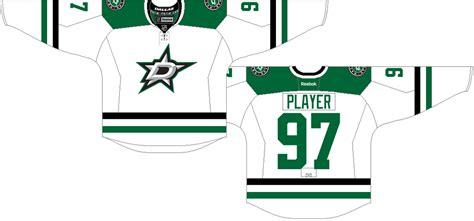 Dallas Stars Light Uniform - National Hockey League (NHL ...