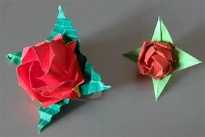 Rosen Aus Seidenpapier : irrlichts origami rosen ~ Lizthompson.info Haus und Dekorationen