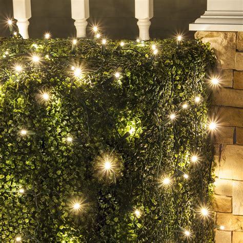Light On by Led Net Lights 5mm 4 X6 Warm White Led Net Lights