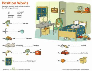 positional words matching education