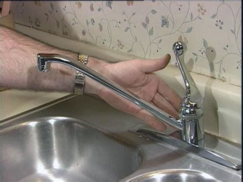 Repairing A Dripping Faucet