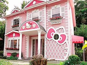 Pink Modern Family House Floor Plan MODERN HOUSE PLAN