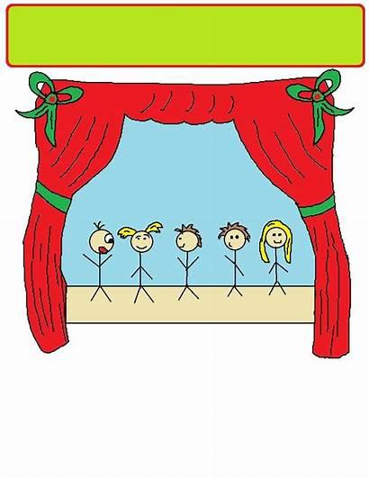 Christmas Clipart Clip Play Children Plays Program