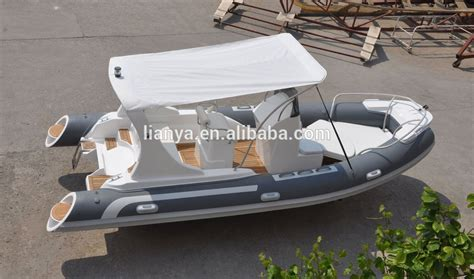 Rib Boat For Sale Philippines by Liya 5 8m Semi Rigid Hypalon Dinghy Boat For