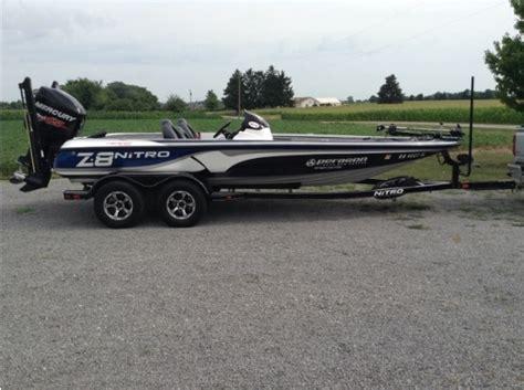 Nitro Bass Boat Z8 by Nitro Z8 Boats For Sale In Ottawa Ohio