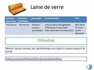 Laine De Verre Phonique : les mat riaux isolants phoniques ppt t l charger ~ Dailycaller-alerts.com Idées de Décoration