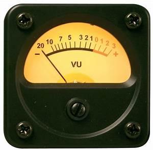 Vintage Vu Meter