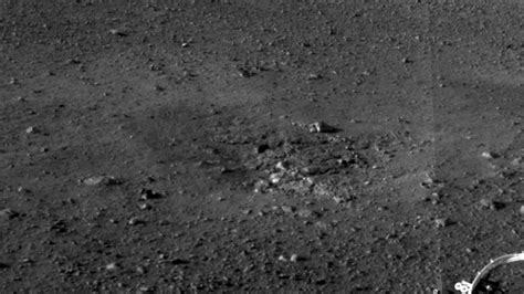 space images rocket thrusters expose bedrock
