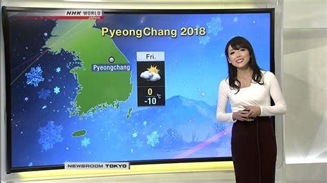 mori sayaka nhk weather tokyo