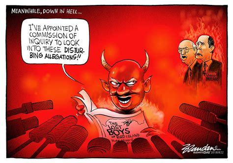 CARTOON: Down in hell