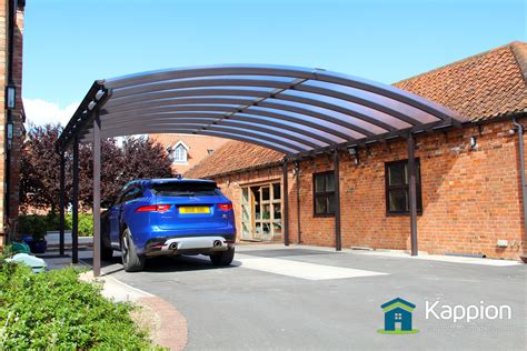 Ultra Wide Carport Canopy Installed In Newark Kappion