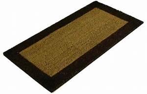 Tapis Coco Sur Mesure : acanthe sol tapis brosse paillasson fibres coco ~ Dailycaller-alerts.com Idées de Décoration