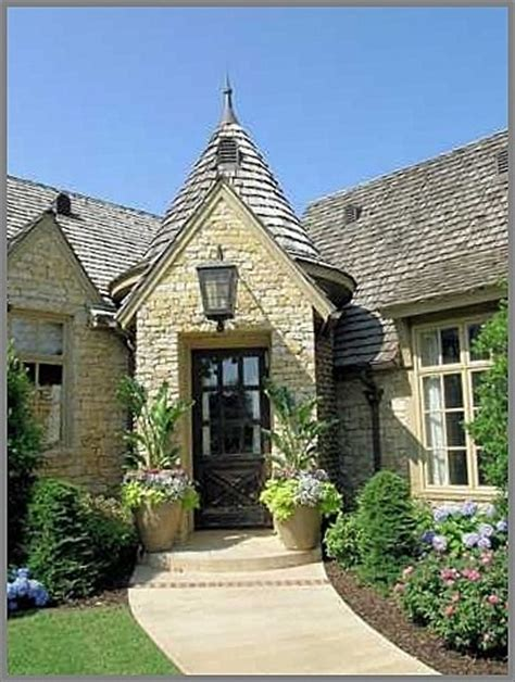 French Entry, Farmhouse, Country Or Cottage Traditional