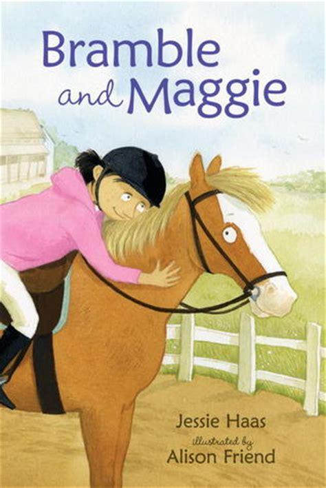 bramble  maggie horse meets girl  jessie haas