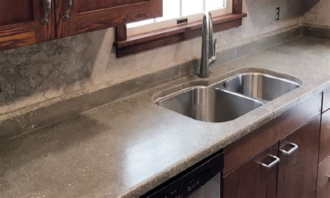 how to cut kitchen countertop for sink a carpenter s time building concrete countertops 9371