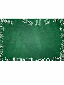 Back to School Green Chalkboard Photography Backdrops - MW ...