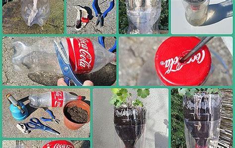 bewaesserungssystem pet flasche ideal fuer die aussaat und