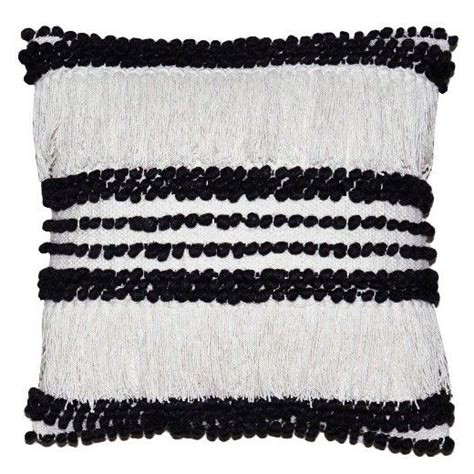 Target Bedroom Throw Pillows by Fringe Throw Pillow 18 Quot White Threshold Target