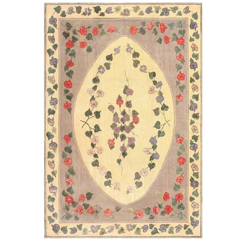 Antique American Hooked Rug For Sale At 1stdibs