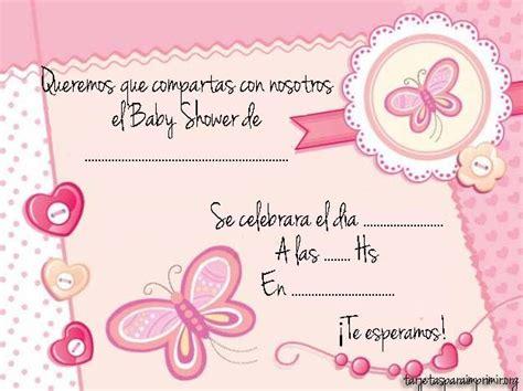 invitaciones de baby shower para imprimir como organizar