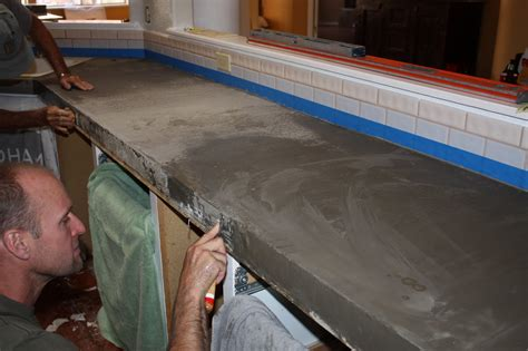 how to cover tile countertops remodelaholic quick install of concrete countertops kitchen remodel