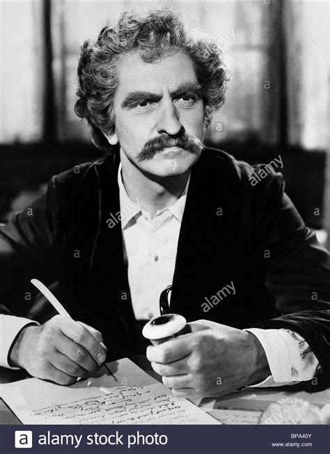 FREDRIC MARCH THE ADVENTURES OF MARK TWAIN (1944 Stock