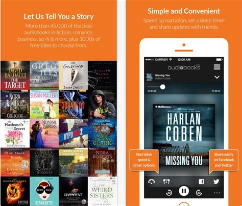 to find audiobooks on iphone best audiobooks apps for iphone and ios 11 ios 10