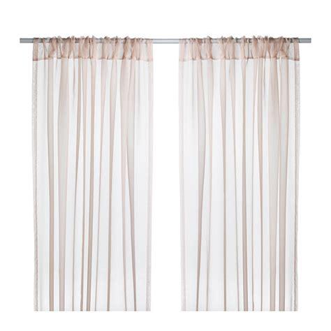 Sheer Curtain Panels Ikea by Teresia Sheer Curtains 1 Pair Ikea