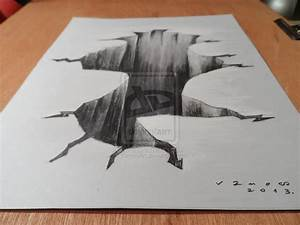Drawing 3D Hole, High resolution by VamosArt.deviantart ...