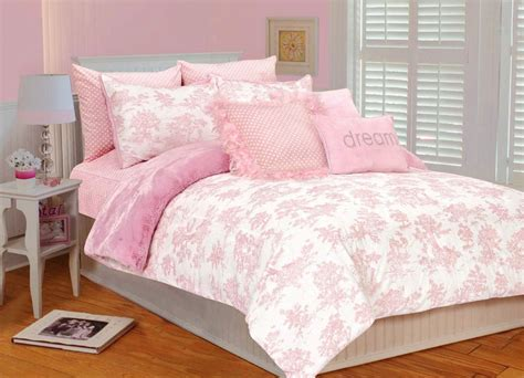 Pink And White Duvet Set by Thro By Marlo Lorenz 5641 Pink Toile 86 By 86