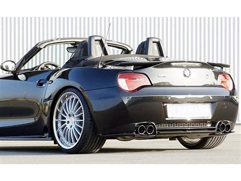 Hm Style Rear Real Carbon Fiber Trunk Spoiler Fit For Bmw