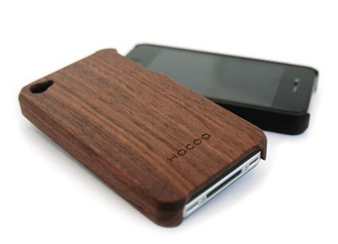 wood iphone wooden iphone 4 gadgetsin